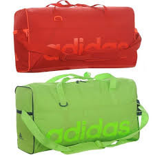 RED AND GREEN SPORTS BAG