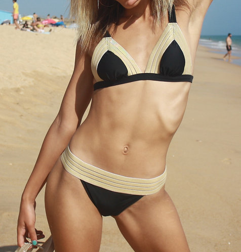 Copacabana Bikini |Black Gold