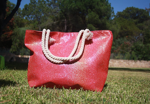 Rose Wine | Beach Bag