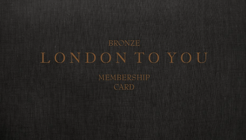 BRONZE MEMBERSHIP CARD