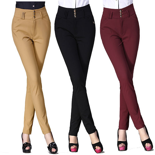Classic Straight Trousers