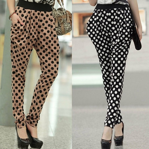 dotted trousers