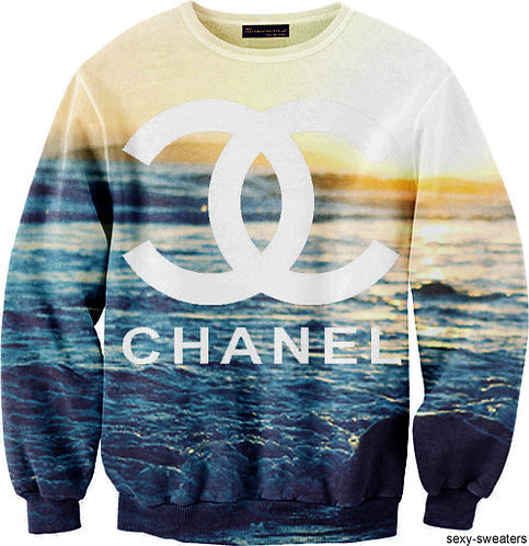 Chanel wavy jumper