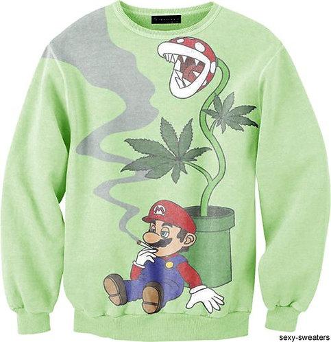 weed mario jumper