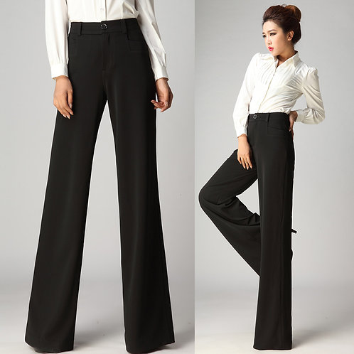 Black long trousers