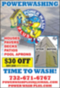 Power-Wash-Plus Coupon Middletown, NJ 07748 732-671-6767