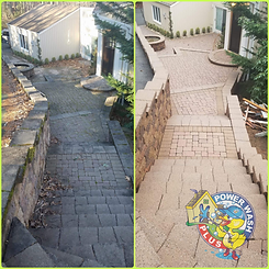 Power Wash Plus Paver Cleaning
