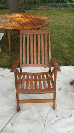 Power Wash Plus Teak Furniture Cleaning