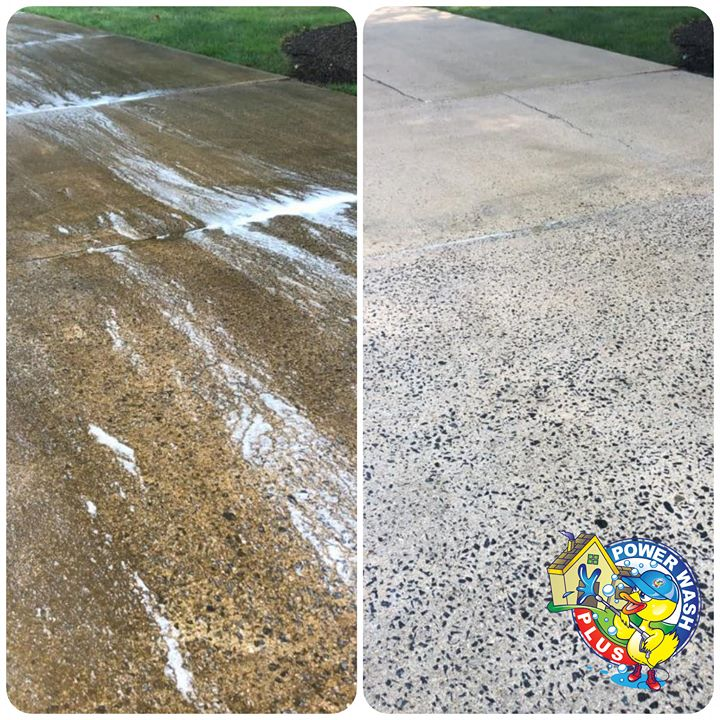 Power Wash Plus Concrete Cleaning