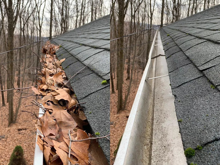 The Best Time To Clean Gutters