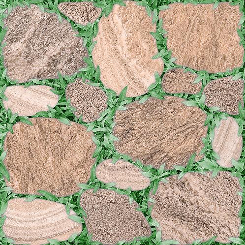 หินทรายหญ้า (หน้าหยาบ)