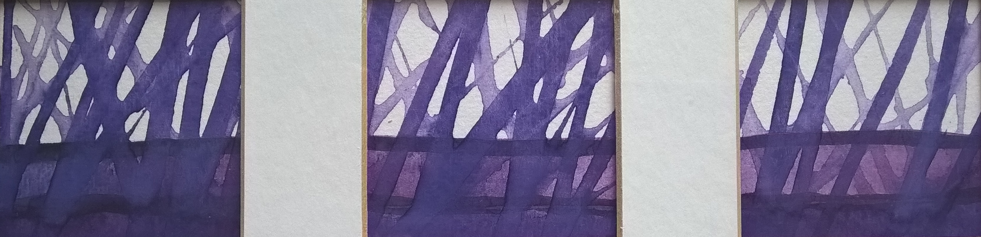 Through the Trees (purple)