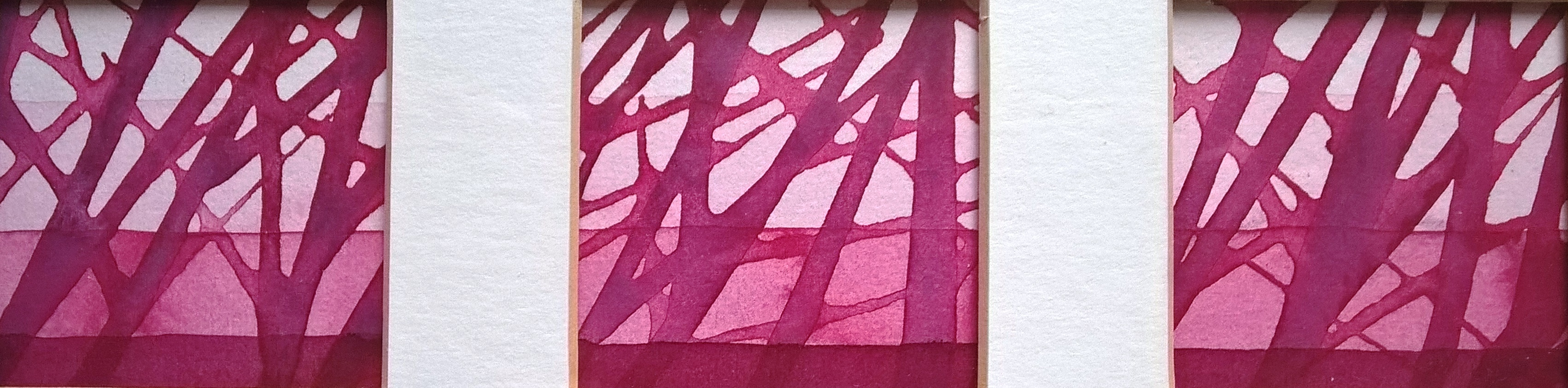 Through the Trees (pink)