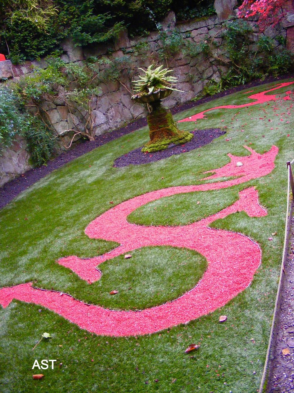 Dragons at Biddulph Grange Chinese Garden