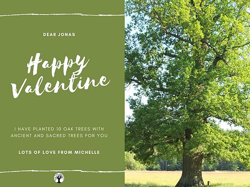 Oak Planting Valentine