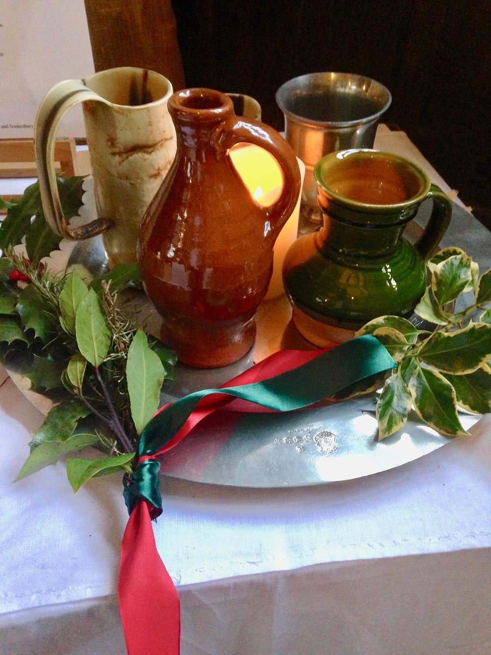 Tudor Ale and Tudor jugs