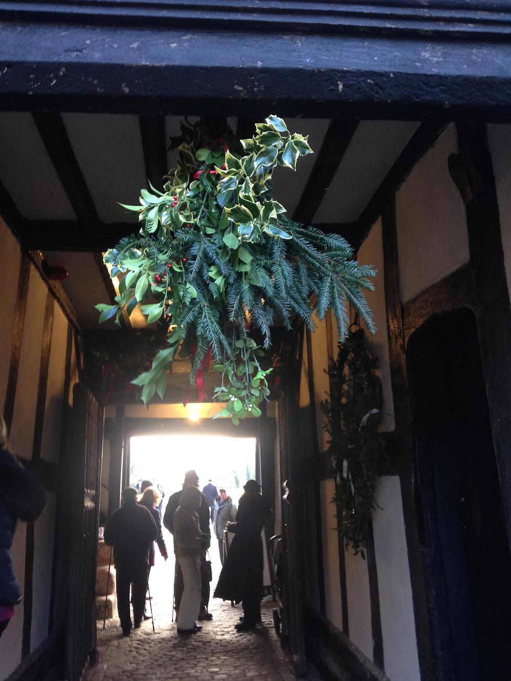 Little Morton Hall Entrance
