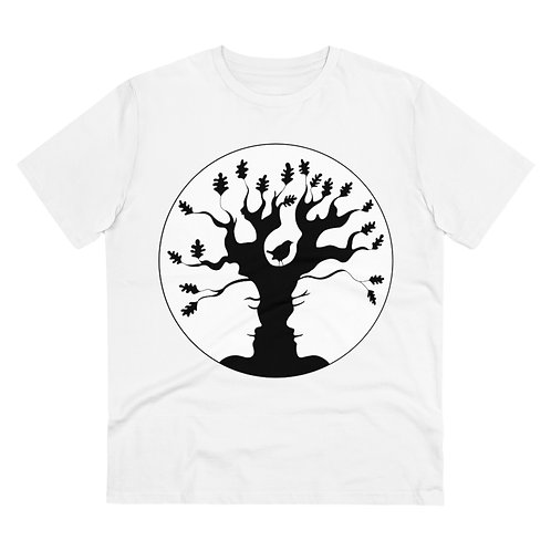 B&W AST Tree plants 20 trees for OrganicT-shirt - Unisex