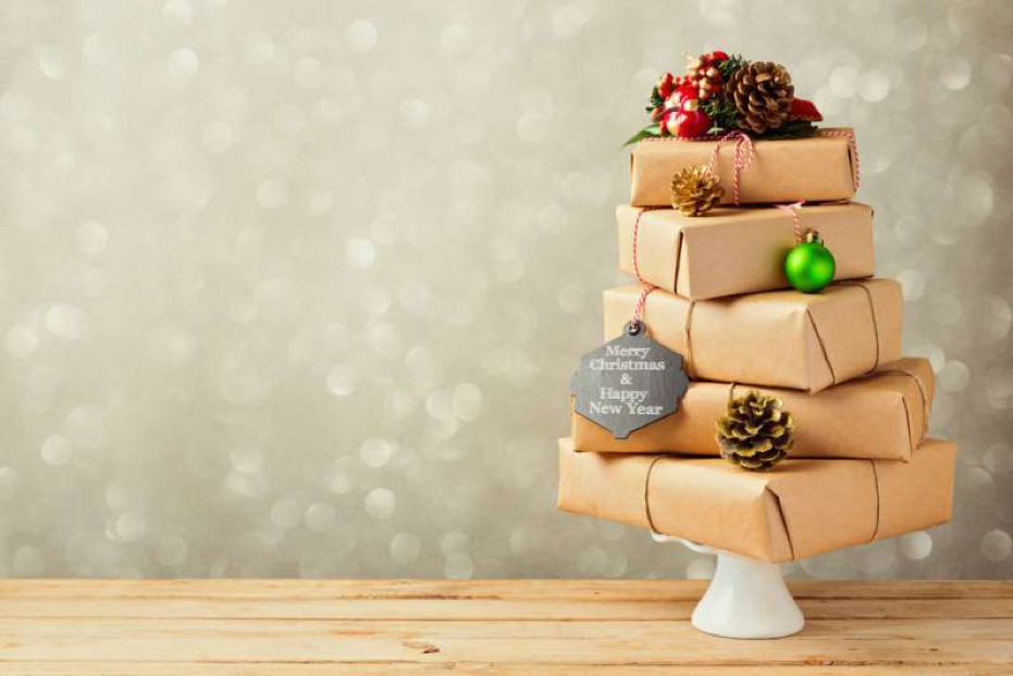 Present Christmas tree