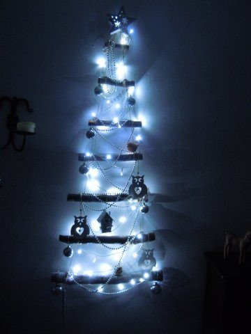 Christmas wall mounted tree