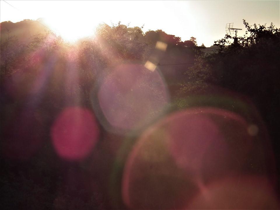 Solstice sunbeams