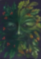 Green Man Theresa Currie