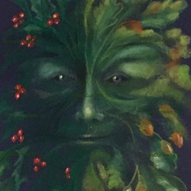 Green Man by Theresa Currie