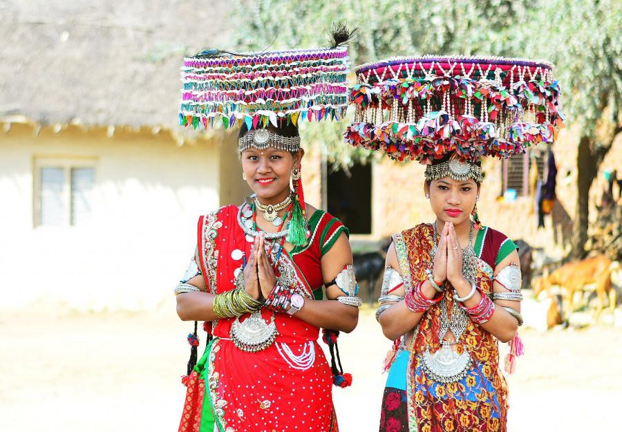 Tharu wedding, Nepal