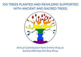 Earthly Offerings CerTreeficate.