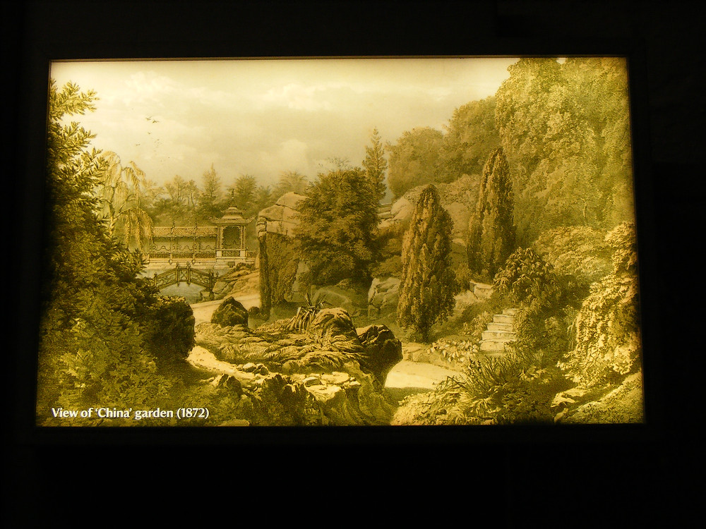 1872 image of Biddulph Grange Chinese Garden