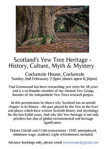Ancient Yew Organisation Event