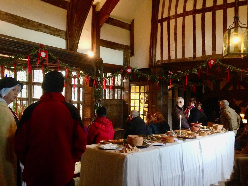 Tudor Feast a little Morton Hall