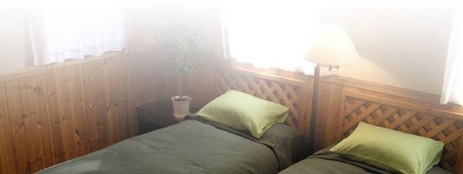 洋室、ロフト付洋室、和室、コテージなどの部屋タイプ別の宿泊や各種宿泊プランをご紹介しています。