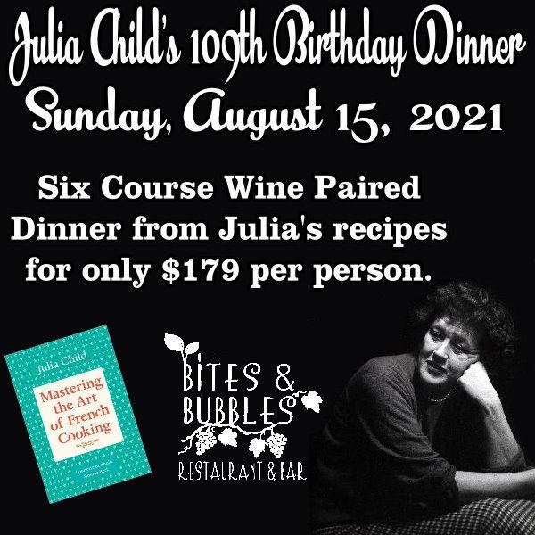 August 2021 Wine Dinner