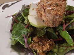 Pistaccio Crusted Mozzarella Salad