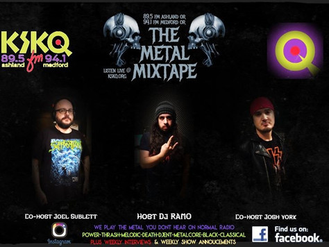 Somewhere Between featured on The Metal Mixtape on KSKQ FM