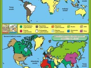 Kam všude stoupla noha Angličanů, Portugalců, Španělů, Francouzů a dalších států Západní Evropy.