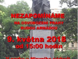 Pietní akt na osvobození Prahy Rudou armádou