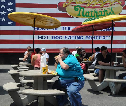 Nathan's, Coney Island, N.Y. 2011