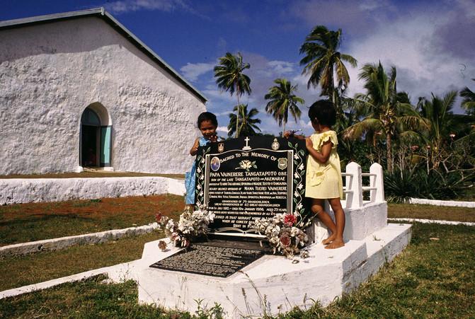 Atiu, Isole Cook, 1989