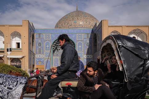 Nash-e Jahan Square, Isfahan, Iran, 2017