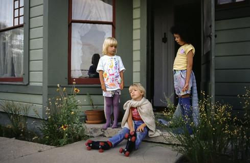 Heather, Scott e Sara, Prescott, Arizona, 1992