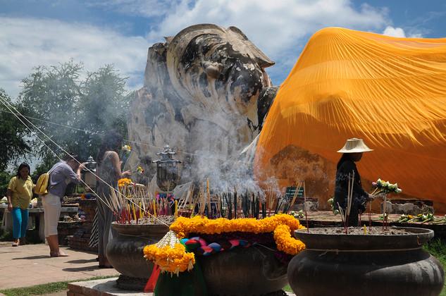 Wat Lokayasuttharam, Tailandia, 2014