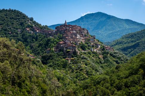 Apricale, Liguria, 2020