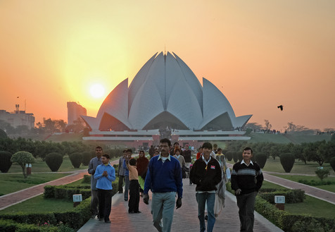 Bahai Temple, New Delhi, India, 2005