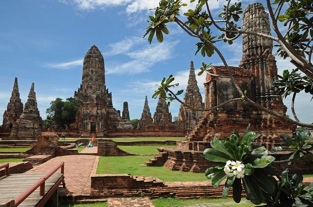 Wat Chai Watthanaram, Ayuthaya, Tailandia, 2014