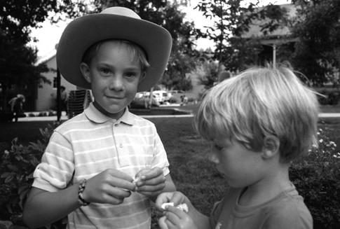 Keegan e Scott, Prescott AZ, U.S.A. 1992