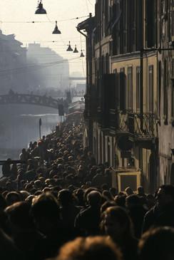 Naviglio Grande, Milano, 1991