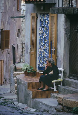 Piana, Corsica, 1990