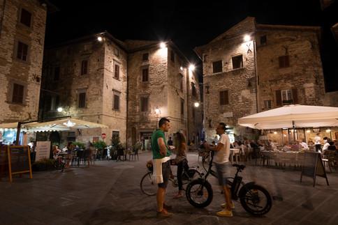 Gubbio, Umbria, 2020